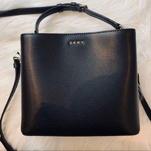 DKNY Leather Bucket Bag (Small)
